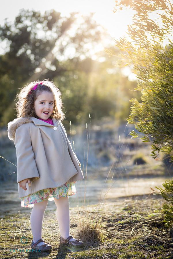 sesión exterior niños y familia