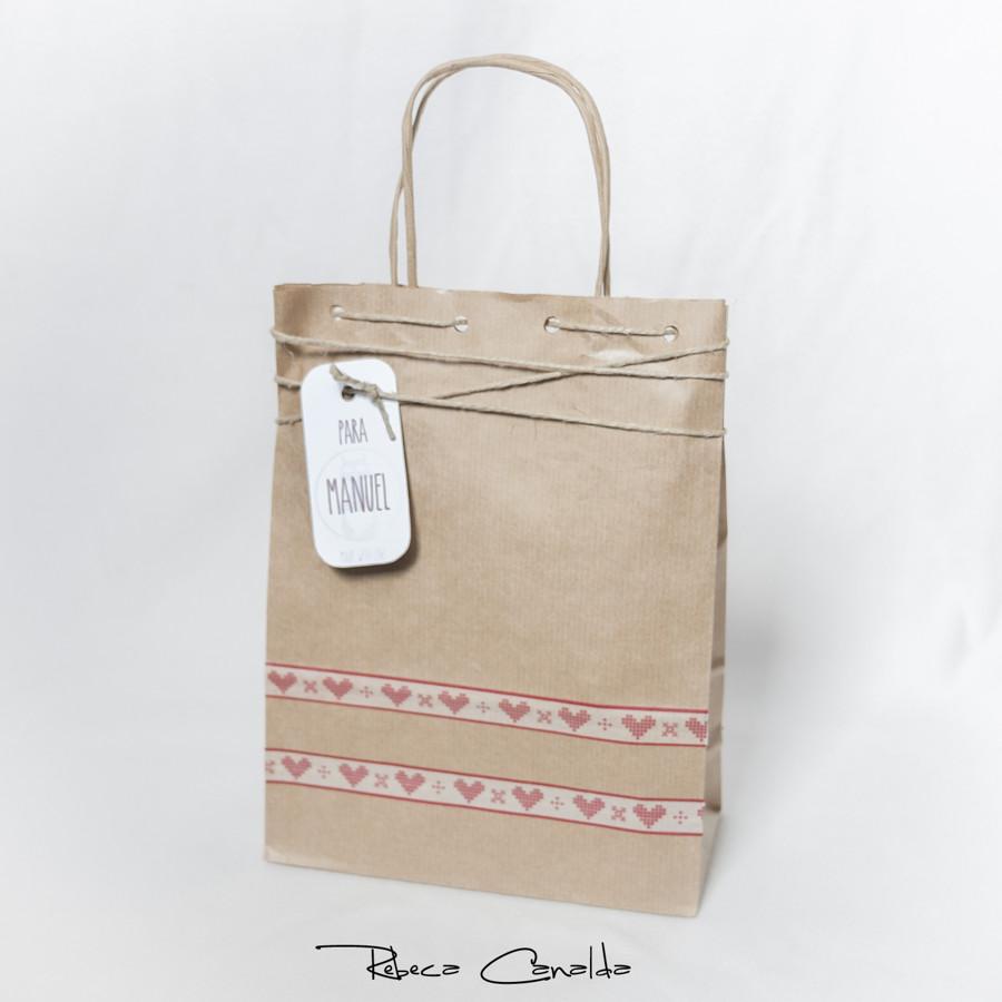 Bolsa craft personalizada